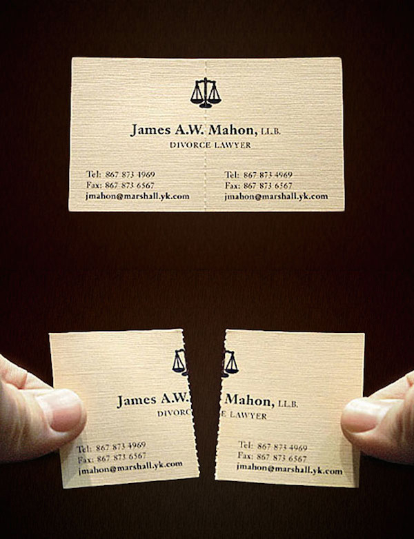 creative unique business card design inspiration 6